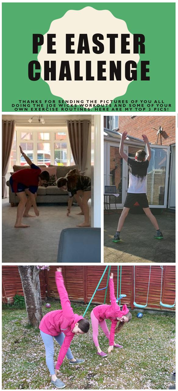 PE Easter Challenge