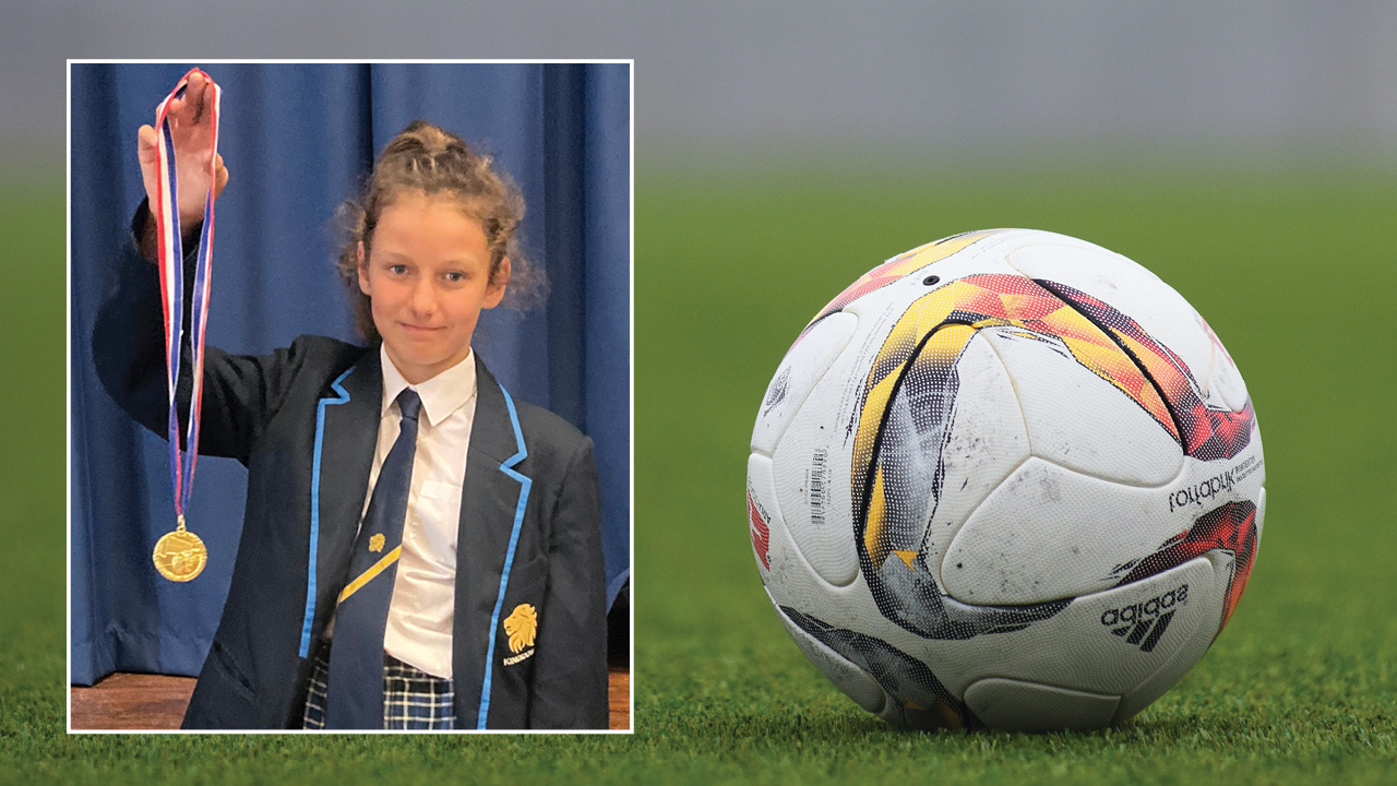 Year 8 Girls Football Star!