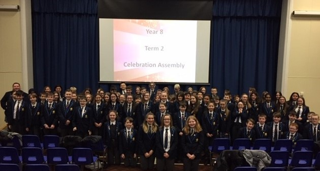Congratulations to Year 8 students